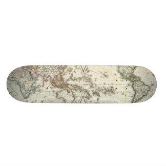 Mapa del atlas de París Skateboards
