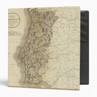 """Mapa del atlas de Portugal Carpeta 1 1/2"""""""
