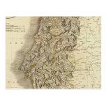 Mapa del atlas de Portugal Postal