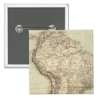 Mapa del atlas de Suramérica Pin