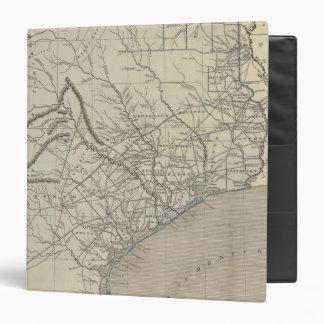 Mapa del atlas de Tejas
