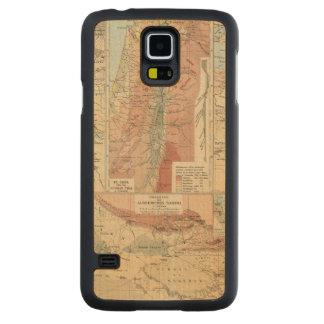 Mapa del atlas de Tieflander Funda De Galaxy S5 Slim Arce