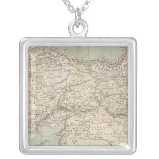 Mapa del atlas de Turquía Collar