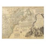 Mapa del atlas del americano de Thomas Jefferys 17 Libretas Para Notas