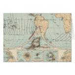 Mapa del atlas del DES Erdinnern de Thatigkeit Tarjeta De Felicitación