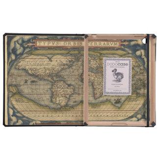 Mapa del atlas del mundo del vintage iPad protectores