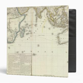 """Mapa del atlas del Océano Índico Carpeta 1 1/2"""""""