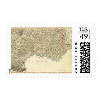 Mapa del atlas del SE Francia Envio