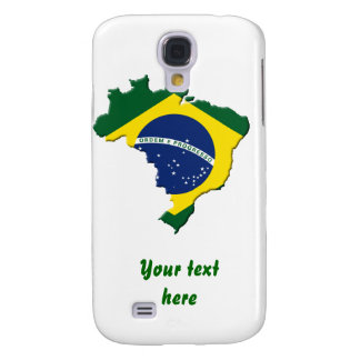 Mapa del Brasil Funda Para Galaxy S4