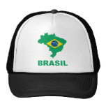 Mapa del Brasil Gorra