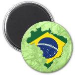 Mapa del Brasil Imanes De Nevera