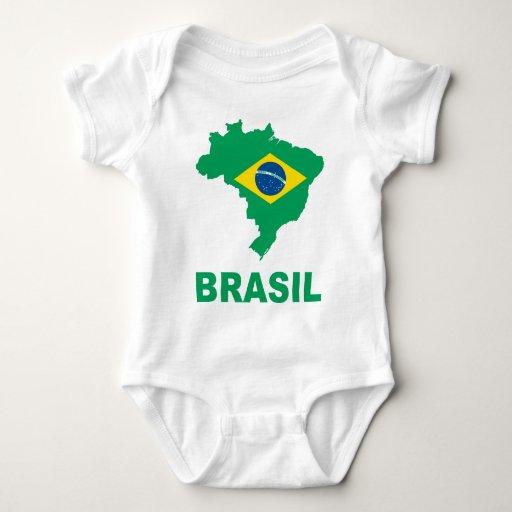 Mapa del Brasil Mameluco De Bebé