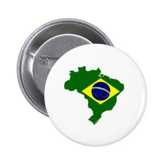 Mapa del Brasil Pins