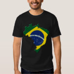Mapa del Brasil Playera