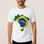Mapa del Brasil Polera