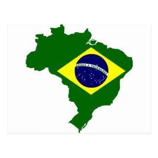 Mapa del Brasil Postal