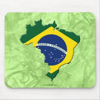 Mapa del Brasil Tapete De Ratones