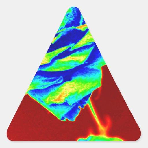Mapa del calor subió colcomanias de triangulo