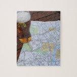 Mapa del centro de ciudad de Londres Rompecabeza