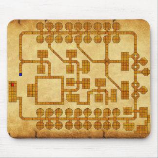 Mapa del cojín de ratón del D&D Mouse Pad