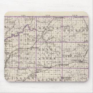 Mapa del condado de Adams Tapete De Ratones