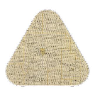 Mapa del condado de Boone Altavoz