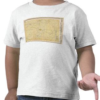 Mapa del condado de Boone Camisetas