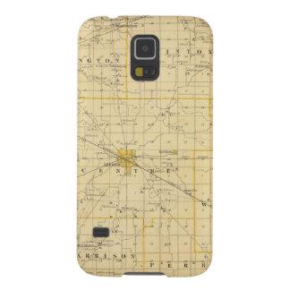 Mapa del condado de Boone Carcasa De Galaxy S5