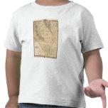 Mapa del condado de Bremer Camiseta