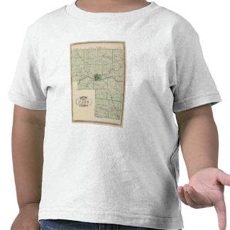 Mapa del condado de Cass Camiseta