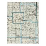Mapa del condado de Clark Postales
