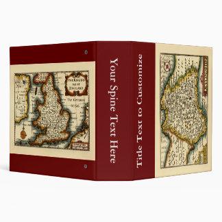 """Mapa del condado de """"Devonshire"""" Devon, Inglaterra Carpeta 2"""""""