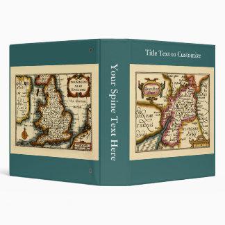 """Mapa del condado de """"Glocestershire"""" Carpeta 1 1/2"""""""