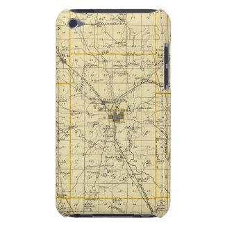 Mapa del condado de Hamilton iPod Case-Mate Funda