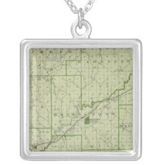 Mapa del condado de Jackson Pendiente Personalizado