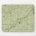 Mapa del condado de Jackson Alfombrillas De Ratones