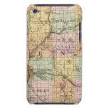 Mapa del condado de Kent, Michigan Case-Mate iPod Touch Coberturas