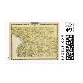 Mapa del condado de Madison Sello