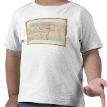 Mapa del condado de Marathon Camisetas