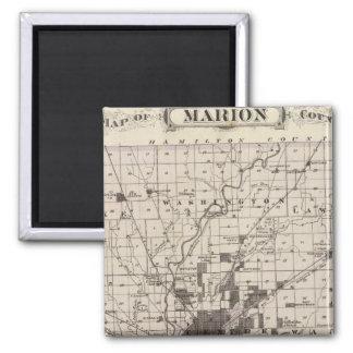 Mapa del condado de Marion 2 Iman
