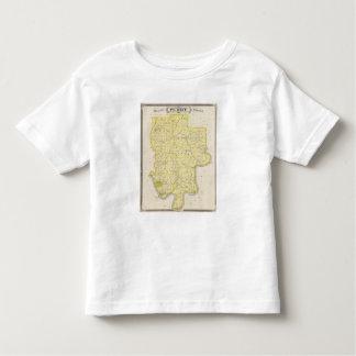 Mapa del condado de Perry Playera De Niño