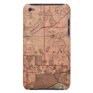 Mapa del condado de Ramsey, Minnesota Case-Mate iPod Touch Protector