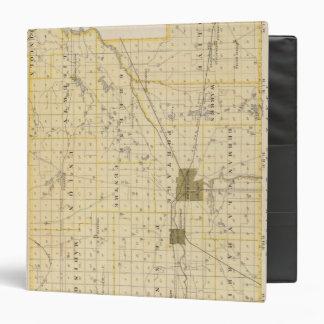 "Mapa del condado de San José Carpeta 1 1/2"""