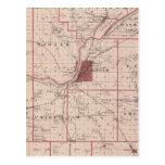 Mapa del condado de Tippecanoe Postal
