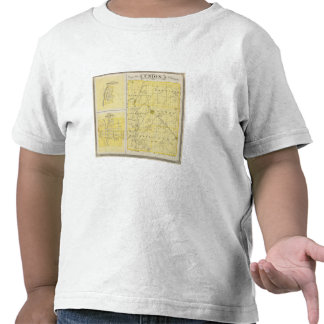 Mapa del condado de Union con Brownsville, Camiseta