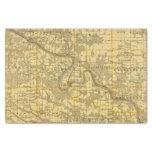 Mapa del condado de Van Buren, estado de Iowa Papel De Seda