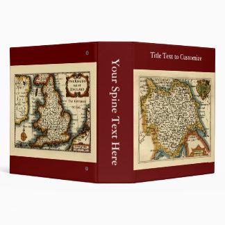 """Mapa del condado de Yorkshire, Inglaterra Carpeta 2"""""""