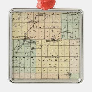 Mapa del condado del St Croix Ornaments Para Arbol De Navidad