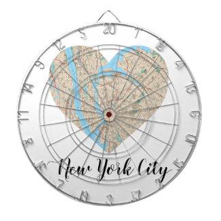 Mapa del corazón de New York City