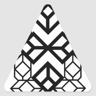 Mapa del diamante calcomania de trianguladas